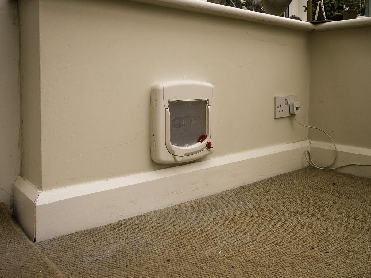 Cat Flap Fitting Through Walls Doors Upvc Panels And